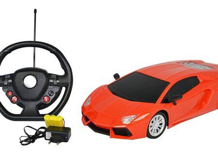 Majorette Lmb Gravity 16 Speed Master Full Function, Orange-2