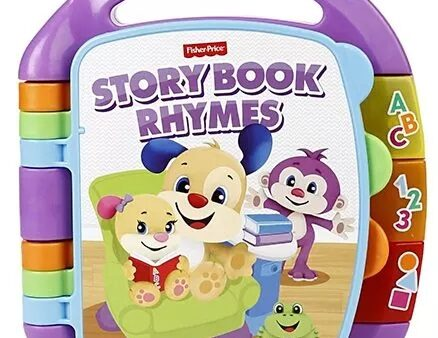 Fisher Price Storybook Rhymes Musical Toy - Purple-6