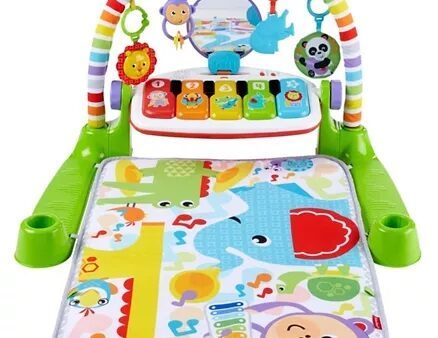 Fisher Price Musical Play Gym Play Mat - Multi Colour-9