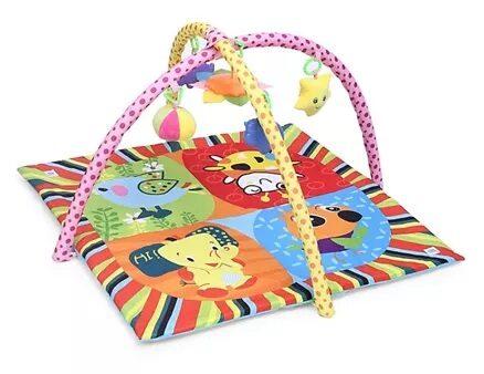 Mee Mee Versatile Baby Play Gym Mat Animal Print - Multi Colour Pink-16