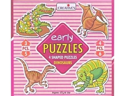 Creatives - Early Puzzles Dinosaurs-4