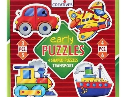 Creatives Early Transport Puzzle - Multicolor-5