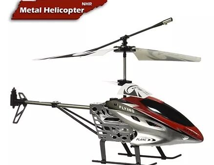 NHR HX-708 Two Channel Radio Remote Control Helicopter - Red-8