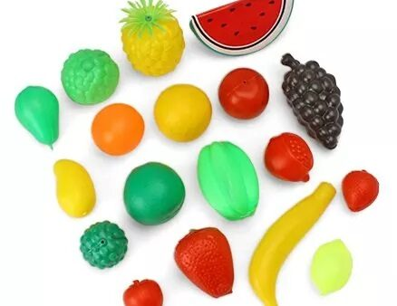 Luvely Play Fruit Set Multicolor - Pack of 20-2