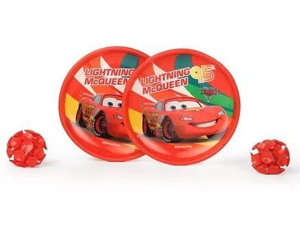 Disney Lightning McQueen Catch Ball Set Pack of 2 - Red-8