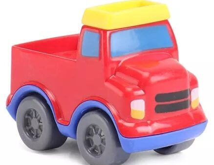 Giggles Mini Vehicles Truck - Red-6