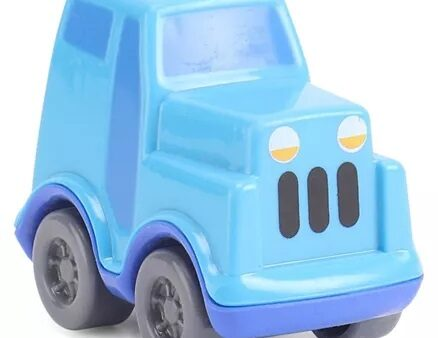 Giggles Police Jeep - Blue-6