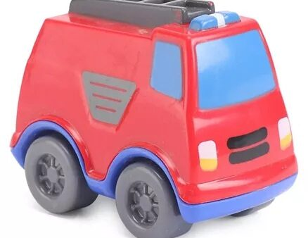 Giggles Mini Fire Truck - Red-5