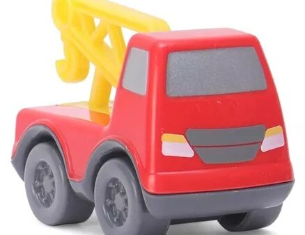Giggles Mini Vehicles Tow Truck - Red-6