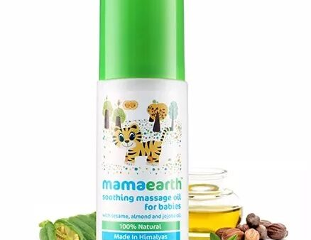 Mamaearth Soothing Massage Oil For Babies - 100 ml-6