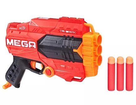 Nerf Mega Tri Break - Red-9