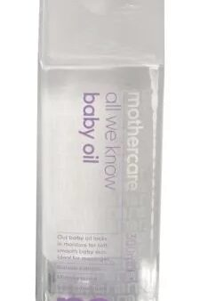 Mothercare All We Know Baby Oil-2