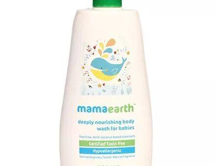 Mamaearth Deeply Nourishing Body Wash For Babies - 400 ml-3