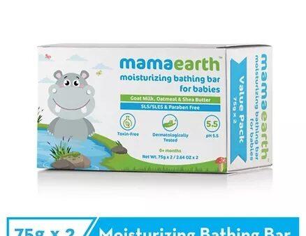 Mamaearth Moisturizing Baby Bathing Soap Bar Pack Of 2 - 75gm-7