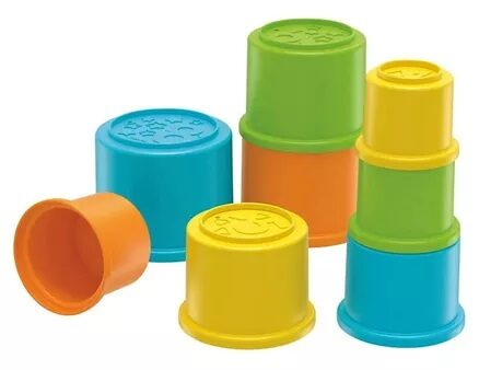 Fisher Price Stacking Cups Multicolour - Pack of 8-7