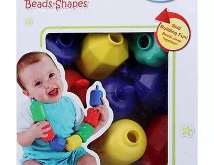 Fisher Price Brilliant Basics Snap Lock Bead Shapes Multicolour-24