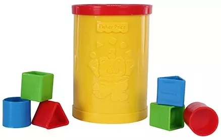 Fisher Price - Brilliant Basics Babys First Blocks Set-14