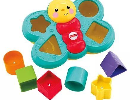 Fisher Price Butterfly Shape Sorter (Color May Vary)-13
