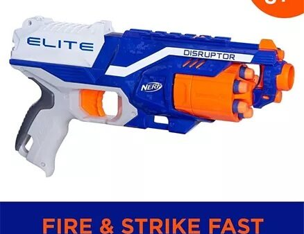 Nerf N-strike Elite Disruptor Dart Gun - Blue Orange-10