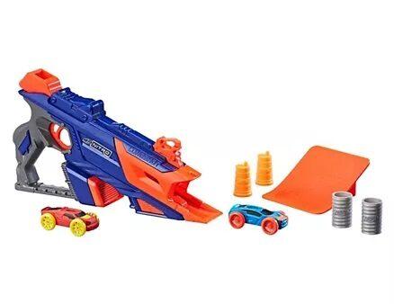 Nerf Nitro Longshot Smash Launcher - Blue-6