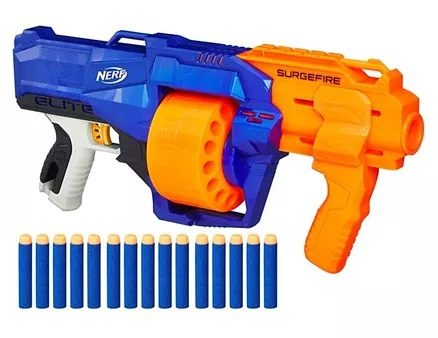 Nerf N-Strike Surgefire Dart Gun - Blue Orange-7
