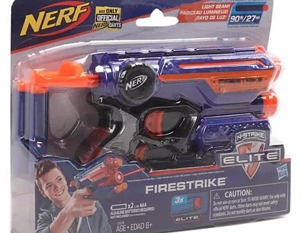 Nerf N-Strike Elite Fire Strike Blaster - Blue-4