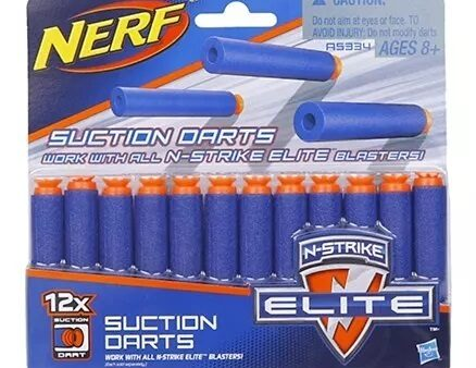 Nerf N Strike Elite Universal Suction Dart - 12 Pieces-3