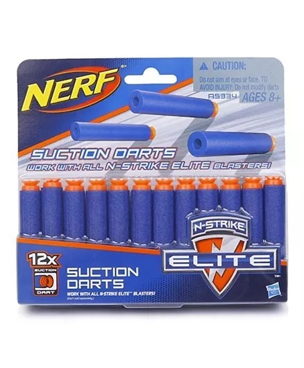 Nerf N Strike Elite Universal Suction Dart - 12 Pieces-3