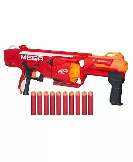 Nerf Nstrike Mega Rotofury Toy Gun - Red-6