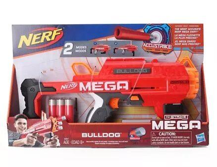 Nerf AccuStrike Mega Bulldog Toy Gun - Red-3