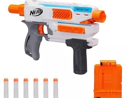 Nerf Modulus Mediator Blaster Toy - White Orange-10