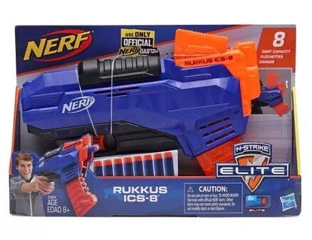 Nerf Elite Rukkus ICS-8 Toy Gun - Blue-3