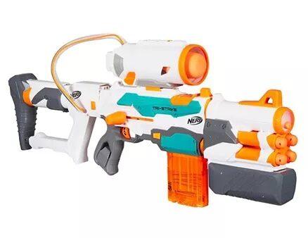 Nerf Modulus Tri Strike Dart Gun - Yellow-14