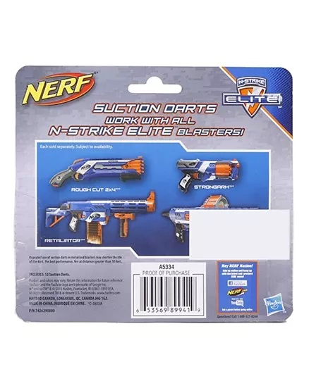 Nerf N Strike Elite Universal Suction Dart - 12 Pieces-2