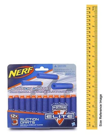 Nerf N Strike Elite Universal Suction Dart - 12 Pieces-1