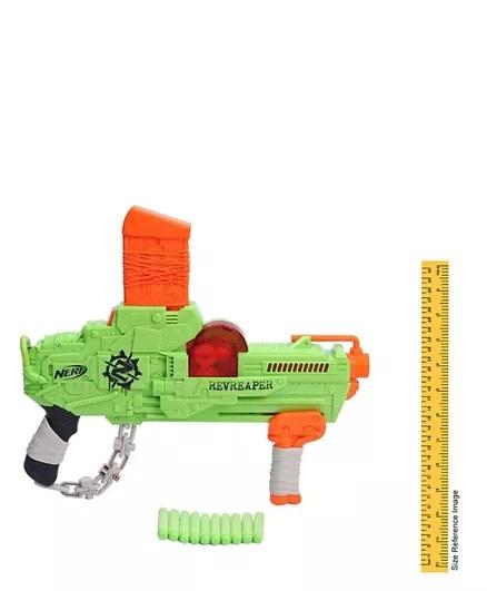 Nerf Zombie Revreaper With Darts - Green-7