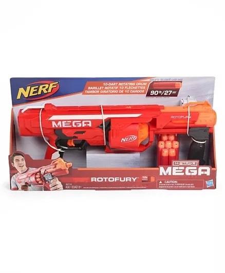 Nerf Nstrike Mega Rotofury Toy Gun - Red-3