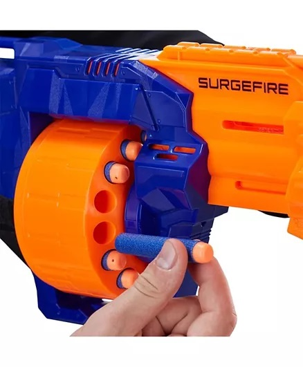 Nerf N-Strike Surgefire Dart Gun - Blue Orange-4