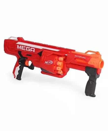 Nerf Nstrike Mega Rotofury Toy Gun - Red-2