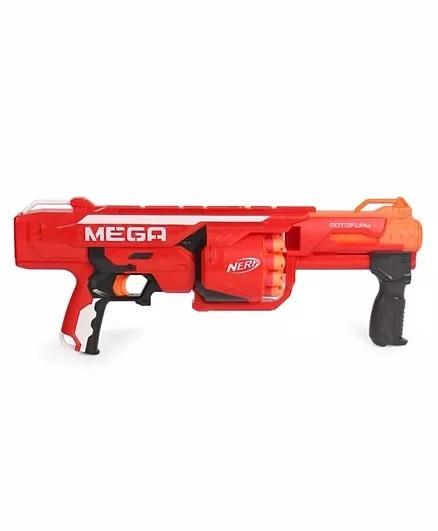 Nerf Nstrike Mega Rotofury Toy Gun - Red-1