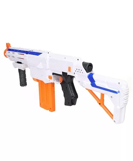 Nerf Elite Retaliator Blaster - Blue & Orange-6