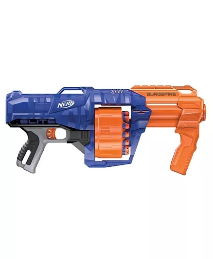 Nerf N-Strike Surgefire Dart Gun - Blue Orange-1