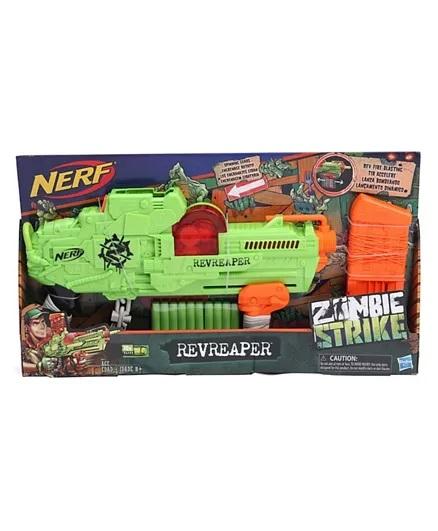Nerf Zombie Revreaper With Darts - Green-2
