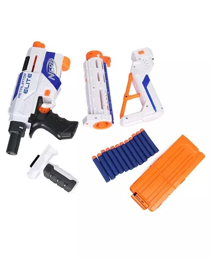 Nerf Elite Retaliator Blaster - Blue & Orange-4