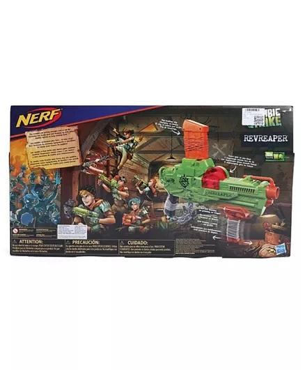 Nerf Zombie Revreaper With Darts - Green-1